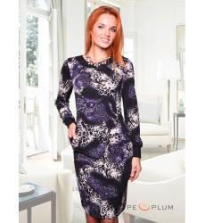 платье CHARUTTI Повседневное платье Космическая