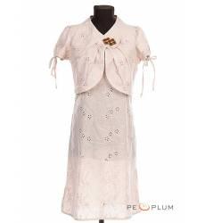 платье Modeleani Повседневное платье Болеро кремовое шитье