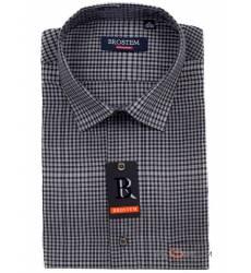 рубашка Brostem Рубашка в клетку с коротким рукавом Сорочка мужска
