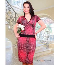 платье CHARUTTI Повседневное платье Леди успех рэд