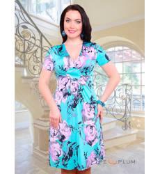 платье CHARUTTI Повседневное платье Пленяющая сердца аквамарин