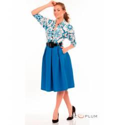 миди-платье Modeleani Повседневное платье Скарлетт майолика