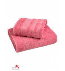 Набор полотенец, 2 шт Унисон, цвет розовый 19758536
