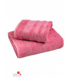 Набор полотенец, 2 шт Унисон, цвет розовый 19761008