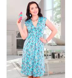 сарафан CHARUTTI Повседневное платье Пленяющая сердца бирюза