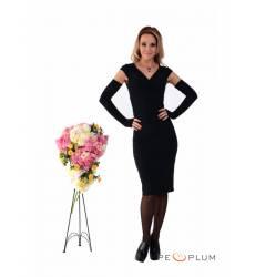платье Zean Платье Черное с элегантными вырезами