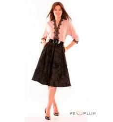 миди-платье Modeleani Повседневное платье Шарм пудра