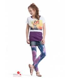 Леггинсы Million X для девочки, цвет рисунок батик 24426248