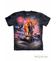 футболка The Mountain Футболка с армейской тематикой Epic Trump