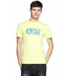 футболка Picture Organic Basement Flake Tee Green Light