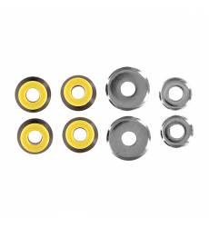 Амортизаторы для скейтборда комплект Юнион Bushings Black/Yellow В Комплекте
