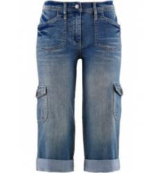 капри bonprix Карго-джинсы-стретч капри