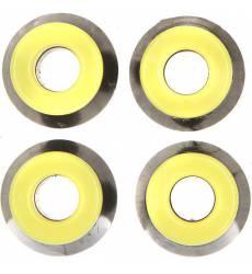 Амортизаторы для скейтборда Юнион Black/Yellow 31795824
