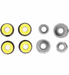 Амортизаторы для скейтборда Юнион Бушинги Black/Yellow Бушинги