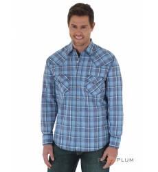 рубашка Wrangler Рубашка в клетку с длинным рукавом Blue/Navy/Red 2