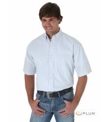 рубашка Wrangler Рубашка в клетку с коротким рукавом White 20X Shor
