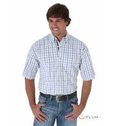 рубашка Wrangler Рубашка в клетку с коротким рукавом White&Strips 2