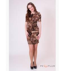 платье OleGra Платье Интрига Леопард