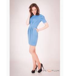 платье OleGra Платье Флора Голубой