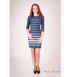 платье OleGra Платье Повседневное Синий