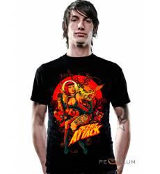 футболка 2K2BT Tattoo Art футболка  Attack