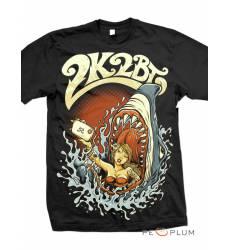 футболка 2K2BT Tattoo Art футболка Tech Shark