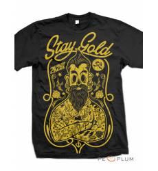 футболка 2K2BT Tattoo Art футболка Stay Gold