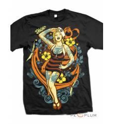 футболка 2K2BT Tattoo Art футболка Sailor Babe