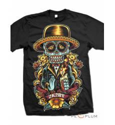 футболка 2K2BT Tattoo Art футболка Sugar Candle