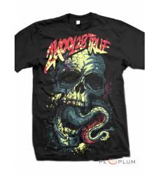 футболка 2K2BT Футболка с черепами Skull Octopus