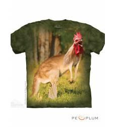 футболка The Mountain Fun-art футболка Kangarooster