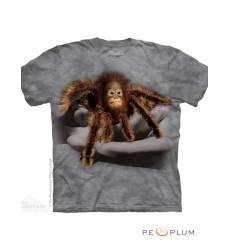 футболка The Mountain Fun-art футболка Baby Tarangutan