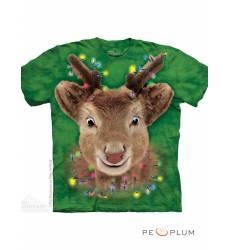 The Mountain Рождественская футболка Lights Reindeer Kids