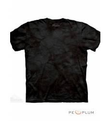 футболка The Mountain Однотонная футболка Black