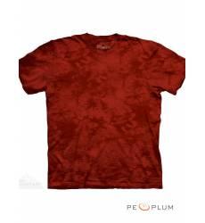 футболка The Mountain Однотонная футболка Candy Apple