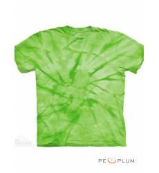 футболка The Mountain Однотонная футболка Spiral Green