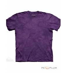 футболка The Mountain Однотонная футболка Lilac