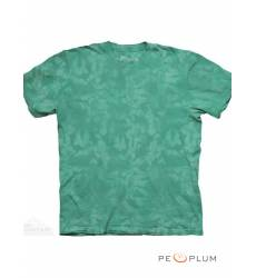 футболка The Mountain Однотонная футболка Teal