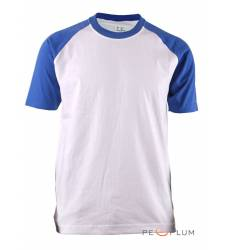 футболка BCPOLO Однотонная футболка Casual 2 Tone Raglan / White C