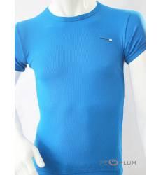 футболка Glacier Однотонная футболка Василек стрейч