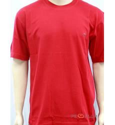 футболка Glacier Однотонная футболка Классическая красная