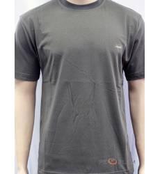футболка Glacier Однотонная футболка Классическая хаки