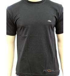 футболка Glacier Однотонная футболка Классическая черная