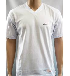 футболка Glacier Однотонная футболка V-ворот белая