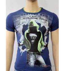 футболка Glacier Футболка в урбан-стиле Quarter row стрейч джинс