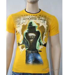 футболка Glacier Футболка в урбан-стиле Quarter row стрейч желтая