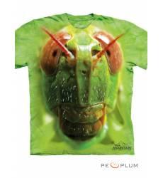 The Mountain Футболка с изображением насекомых Grasshopper Face