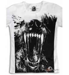 футболка Shark Футболка с волком Wolf Womens