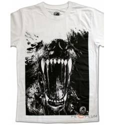 футболка Shark Футболка с волком Wolf Mens