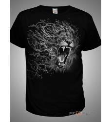 футболка Shark Футболка со львом Lion Mens